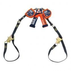 "3M - 3500228 - 3M DBI-SALA 8' Nano-Lok edge 3/16"" Galvanized Steel Cable Twin Leg Self-Retracting Lifeline With Tie-Back Hooks, ( Each )"