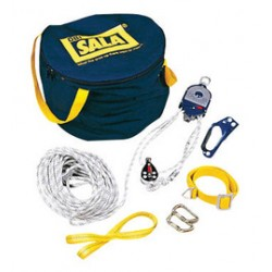 """3M - 3602100 - 3M DBI-SALA Rollgliss Aluminum Rescue Positioning Device System (Includes 4:1 Ratio With Pulleys, Rope Anchor Straps, (2) Carabineers, 100' Traveling Distance, 3/8"""" X 510' Length Static Kernmantle Rope And Carrying Bag), ( Each )"""