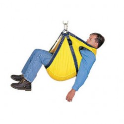 3M - 3610150 - 3M DBI-SALA Rescumatic Polyester Web Rescue Cradle With Carabineer And 150' Of Guideline Rope (For Safe And Quick Removal Of Injured Personnel), ( Each )