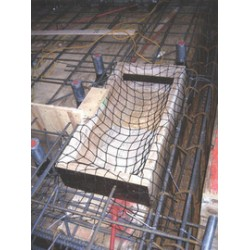 "3M - 4102002 - 3M DBI-SALA 100' Sinco Pour-In-Place Netting System (Includes 8"" Strip Of 375 Nylon Mesh And (25) Plastic Cable Ties) No Border, ( Each )"