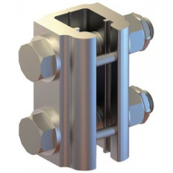 3M - 6000100 - 3M DBI-SALA Railok 90 Aluminum And Galvanized Rail Joint With Fasteners, ( Each )