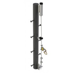 Capital Safety - 6100045 - DBI/SALA Lad-Saf Flexible Galvanized Bottom Bracket With Built-In Tensioner, ( Each )