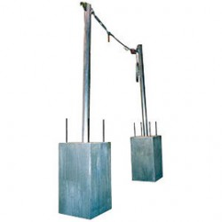 """3M - 7400220 - 3M DBI-SALA 20' SecuraSpan Horizontal 3/8"""" Galvanized Cable Lifeline System (Includes (2) Stanchions, Cable Assembly And Zorbit Energy Absorber), ( Each )"""