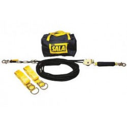3M - 7600510 - 3M DBI-SALA 100' Sayfline Temporary Horizontal Kernmantle Rope Lifeline System (Includes Kernmantle Rope Lifeline With Tensioner, (2) Tie-Off Adapter And Anchor System With Storage Bag), ( Each )