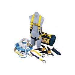 3M - 7611904 - 3M DBI-SALA 50' Sayfline Fall Protection Kit (Includes 1103513 Delta Harness, 1224005 Rope Adjuster With Lanyard, (2) 2103673 Reusable Roof Anchors, 7600505 Sayfline 50' Horizontal Lifeline, 1202794 50' Lifeline, 5901583 Counterweight And