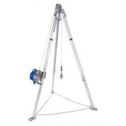 3M - 8301034 - 3M DBI-SALA 7' Advanced Sealed-Blok 3-Way SRL Aluminum Tripod With 85' Galvanized Steel Wire Rope, Mounting Bracket, And Carrying Case, ( Each )