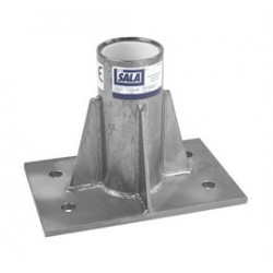 3M - 8516563 - 3M DBI-SALA Advanced Center Mounted Floor Zinc Plated Mild steel Mounting Sleeve With PVC Sleeve Liner, ( Each )