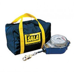 """3M - 9503514 - 3M DBI-SALA Canvas Carrying Bag With Bright Yellow Strap (9"""" X 7"""", For Use With 3403500 And 3403501 Self-Retracting Lifelines), ( Each )"""