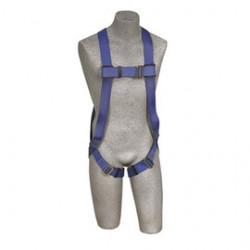 3M - AB17510-XL - 3M DBI-SALA X-Large PROTECTA FIRST Full Body Style 3-Point Blue Harness With Back D-Ring And Pass-Thru Leg Strap Buckle, ( Each )