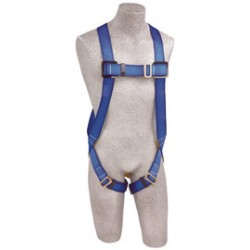 3M - AB17510-XXL - 3M DBI-SALA 2X PROTECTA FIRST Full Body/Vest Style Harness With Back D-Ring, Pass Thru Buckle Legs And Attached 6' AE57610 Lanyard, ( Each )