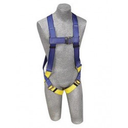 3M - AB17532 - 3M DBI-SALA Universal PROTECTA FIRST 5-Point Full Body Style Harness With Back D-Ring And Permanently Attached 6' AE57610 Lanyard, ( Each )