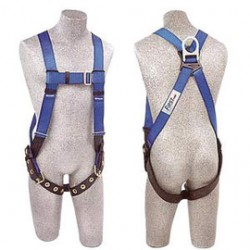 3M - AB17550-XL - 3M DBI-SALA X-Large PROTECTA FIRST Full Body Style Harness With Back D-Ring, Tongue Leg Strap Buckle, Pass-Thru Chest Strap Buckle And Torso Adjuster, ( Each )