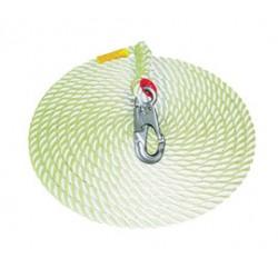 "3M - AC215A - 3M DBI-SALA 50' Vertical 5/8"" Nylon Rope Lifeline With AJ520A Single Snap Hook, ( Each )"