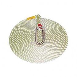"3M - AC230A - 3M DBI-SALA 100' Vertical 5/8"" Nylon Rope Lifeline With AJ520A Hook, ( Each )"