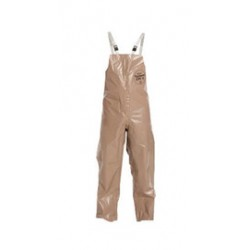 DuPont - D13469468-CA - DuPont Size 2X Tan Tychem 5000 18 mil Polypropylene Overalls, ( Case of 6 )