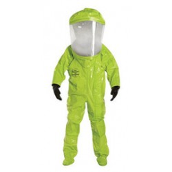 DuPont - D13491175 - DuPont Large Lime-Yellow Tychem 10000 28 mil Tychem 10000 Personal Protection Kit Suit, ( Each )