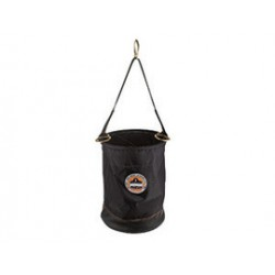 Ergodyne - 14650 - Nylon Bucket with Leather Base and Steel D-Rings