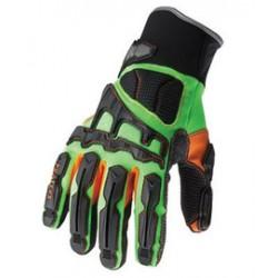 Ergodyne - 16051-CA - Ergodyne X-Small Green ProFlex Armortex And PVC Full Finger Anti-Vibration Gloves With Neoprene Cuff, ( Case of 6 )