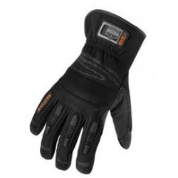 Ergodyne - 16084-CA - Ergodyne Large Black ProFlex Goatskin Full Finger Mechanics Gloves With Gauntlet Cuff, ( Case of 6 )