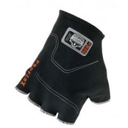 Ergodyne - 16106-PR - Ergodyne Large Black ProFlex Spandex Half Finger Anti-Vibration Glove Liners With Elastic Cuff, ( Pair )