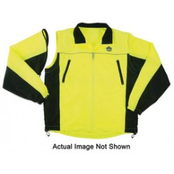 Ergodyne - 24222 - Ergodyne Glowear 8350 High-Visibility Lime Small Poly Pongee (Shell) Work Jacket - 720476-24222