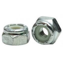 Fastenal - 37124 - Fastenal 3/8' - 24 UNF X .468' Grade 2 Zinc Plated Steel Nylon Insert Lock Nut, ( Each )