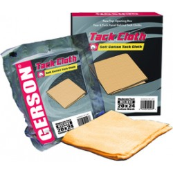 Gerson - 020003G - Gerson Deluxe Cotton Tack Cloth, 24 x 20 Mesh, 36 Length x 18 Width, Gold, 24x20
