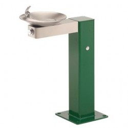 Haws - 3377 - Haws 3/8 Barrier-Free Steel Pedestal Drinking Fountain, ( Each )