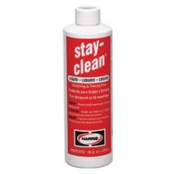 Harris Welco - SCLF4 - Harris Stay-Clean Liquid Soldering Flux 4 Ounce Flip Top Bottle (For All Metals Except Aluminum, Magnesium And Titanium), ( Each )
