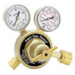Harris - 3000431 - Harris Model 25-80-IGG-580 Cylinder Mount Inert Gas Flowgauge Regulator With Inert Gas Guard, CGA-580, ( Each )