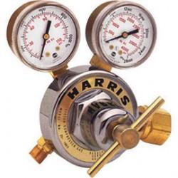 Harris - 3000550 - Harris Model 25-100C-590 Medium Duty Industrial Air Single Stage Regulator With Boxed, CGA-590, ( Each )