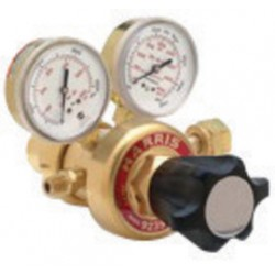 Harris - 3302300 - Harris Model 9235-350-350 Multi-Stage Style High Flow Manifold High Pressure Hydrogen Or Methane Calibration Two Stage Regulator, CGA-350, ( Each )
