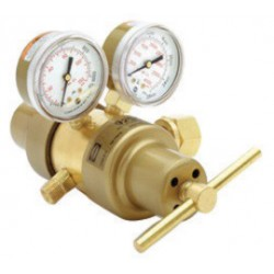 Harris - 3302687 - Harris Model 9296SS-50-580 Multi-Stage Style Heavy Duty General Purpose Argon, Helium Or Nitrogen Calibration Two Stage Regulator With Stainless Steel Diaphragm, CGA-580, ( Each )