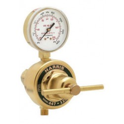 Harris - 4000559 - Harris Model 447-50-CRM High Flow Heavy Duty Inert Gas Single Stage Station Regulator, ( Each )