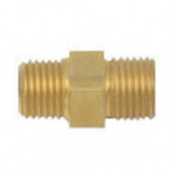 "Harris - 9000194 - Harris 1/4"" NPT X 9/16"" - 18 UNF-2A RH Outlet Nipple, ( Each )"