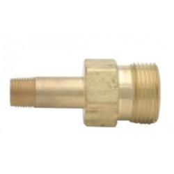 "Harris - 9005726 - Harris 1"" - 11.5 NPS X 1/2"" NPT LH Brass Union Bushing (For Use With Manifold Regulator), ( Each )"