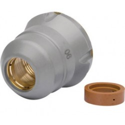 Harris - KH653 - Harris Model KH653 Replacement Air Diffuser And Shield Cup Set For Lincoln Electric P20 And PowerTorch P20 Plasma Torch (Contains 1 Air Diffuser And 1 Shield Cup), ( Each )