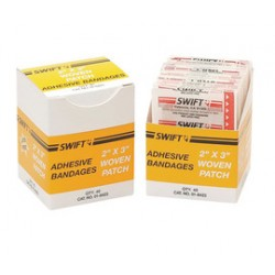 Honeywell - 016423 - Patch Bandage, Beige, Heavy Woven, PK40