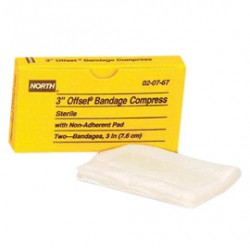 Honeywell - 020767 - Bandage Compress 3 Offset