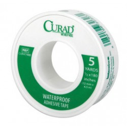 Honeywell - 048007-CA - North By Honeywell 1/2 X 5 Yard Curad Waterproof Adhesive Tape, ( Case of 12 )
