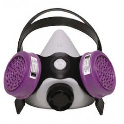 Honeywell - 360000 - Honeywell Medium Silicone Half Mask Low Maintenance Respirator