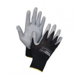 Honeywell - 395-L - Honeywell Large Pure Fit 13 Cut Light Weight General Purpose Gray Foam Nitrile Palm Coated Work Gloves With Black Nylon Liner