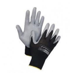 Honeywell - 395-M - Honeywell Medium Pure Fit 13 Cut Light Weight General Purpose Gray Foam Nitrile Palm Coated Work Gloves With Black Nylon Liner