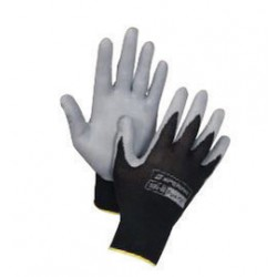 Honeywell - 395-S - Honeywell Small Pure Fit 13 Cut Light Weight General Purpose Gray Foam Nitrile Palm Coated Work Gloves With Black Nylon Liner