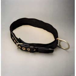 Honeywell - 3NA/XXLBK - Miller by Honeywell 2X 46 - 54 1 3/4 Nylon Web Body Belt With Tongue Buckle, Single D-Ring And 3 Back Pad, ( Each )