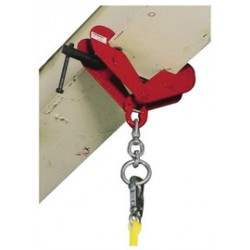 Honeywell - 450/ - Beam Clamp, Up to 9 In L, Steel