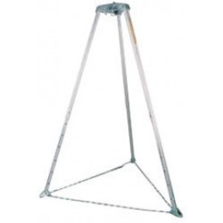 Honeywell - 51X/9FT - Confined Space Tripod, 108 Height Range, 90 Base Radius Range, 400 lb. Max. Working Load