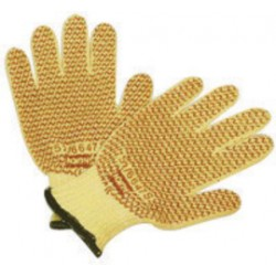 Honeywell - 52/6647M-PR - North By Honeywell Medium Grip N Medium Weight Kevlar Ambidextrous Cut Resistant Gloves With Knit Wrist, Nitrile Coating, Cotton And Acrylic Blend, ( Pair )