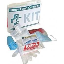 Honeywell - 552001 - Federal OSHA Bloodborne Pathogen Kit, Poly Bag, Clear, 1 EA