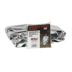 Honeywell - 80264RB - Emergency Blanket, Silver, 52 In. x 84 In.